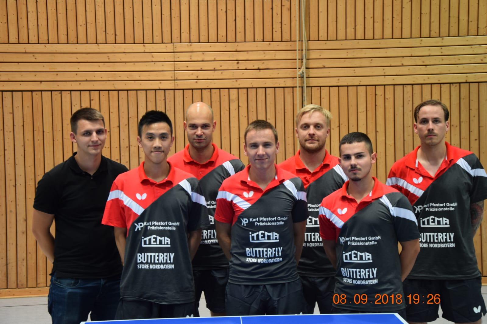 Die 1. Mannschaft des TSV Zella-Mehlis