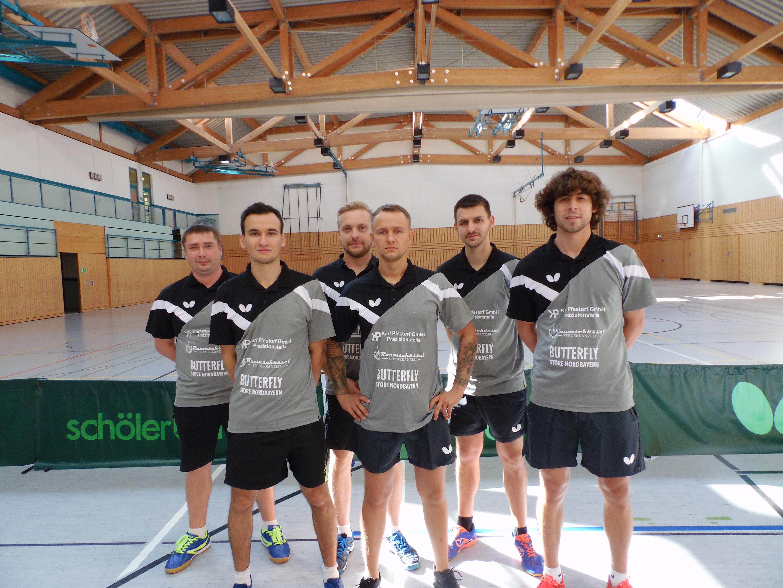 1. Mannschaft 2019/2010 TSV Zella-Mehlis